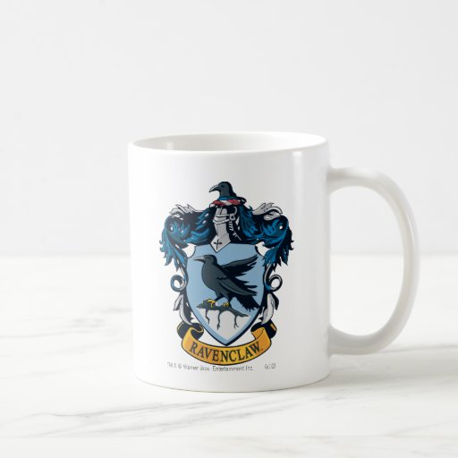 Ravenclaw Crest Classic White Coffee Mug