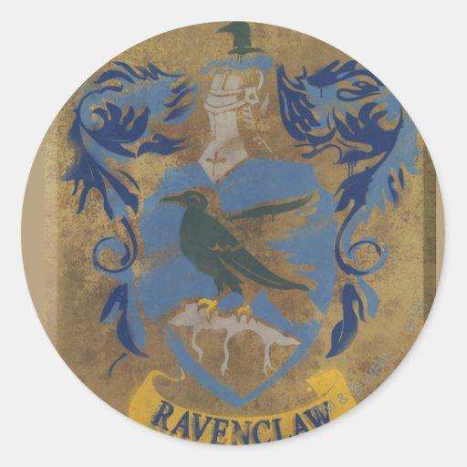 Ravenclaw Crest HPE6 Classic Round Sticker