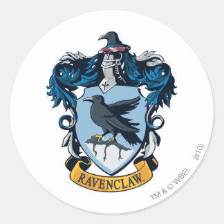 Ravenclaw Crest Round Stickers