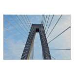 Ravenel Bridge, Charleston, South Carolina Poster