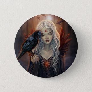 Ravenkin 6 Cm Round Badge