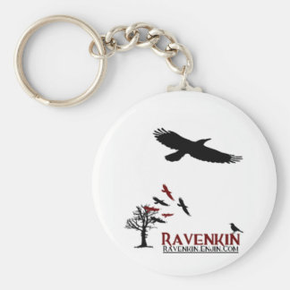 Ravenkin Specialty Key Ring
