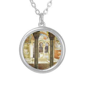 Ravenna, Italia Silver Plated Necklace