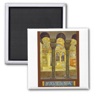 Ravenna Italy Poster Square Magnet