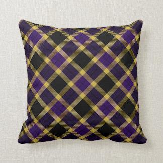 Ravens Colors Plaid Pattern Pillows