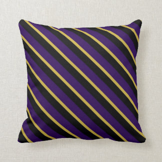 Ravens Colors Stripes Pattern Pillows