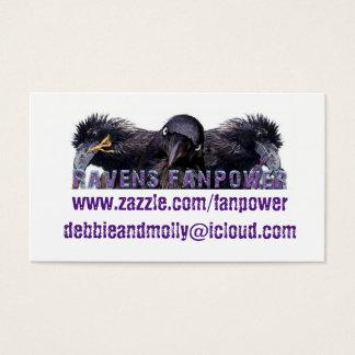 Ravens Fanpower Business Card