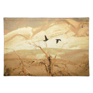 Ravens in Death Valley Placemat