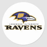 Ravens Items Round Stickers