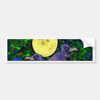 Raven's Moon Magic Gifts By Sharles Bumper Sticker