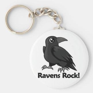 Ravens Rock! Key Ring