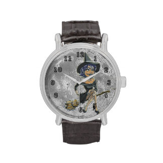 RAVENS STUFFS WITCHY MOON WRIST WATCHES