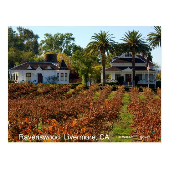 Ravenswood Livermore California Products Postcard