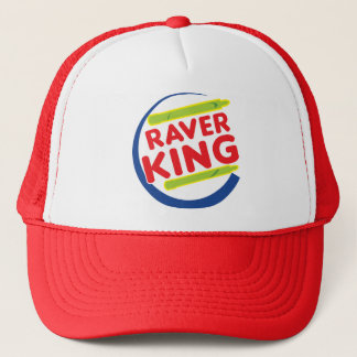Raver King Trucker Hat