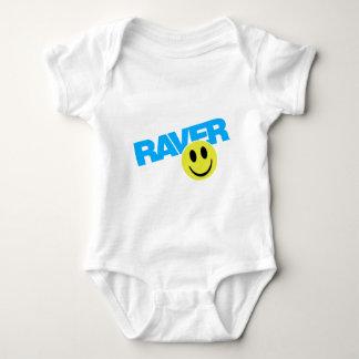 Raver - Raver Music DJ Clubbing Rave Baby Bodysuit