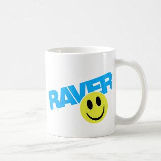 Raver - Raver Music DJ Clubbing Rave Basic White Mug