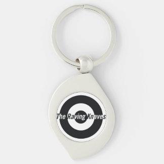Raving Knaves Swirl Key fob Key Chains