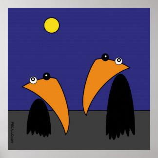 Raving Ravens - Halloween Posters