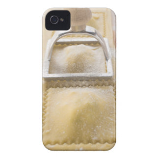 Ravioli with pastry cutter, close up Case-Mate iPhone 4 case