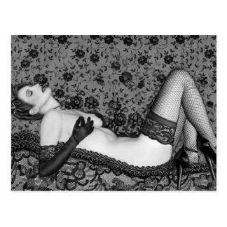 Ravishing Romance - Self Portrait Postcard