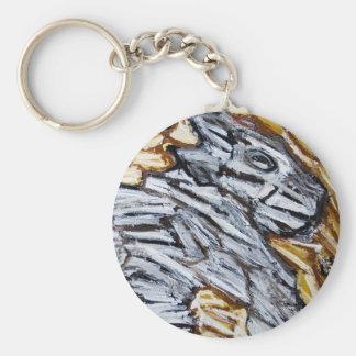 Raw Cave Dog (raw expressionism) Keychains
