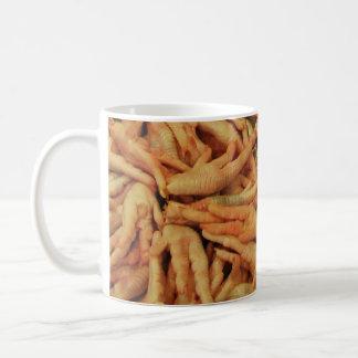 Raw Chicken Feet Coffee Mug