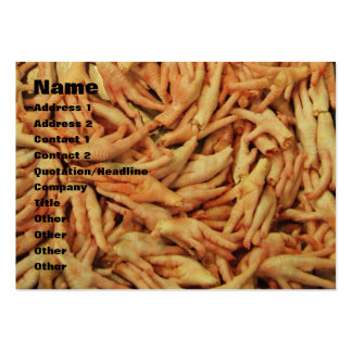 Raw Chicken Feet Pack Of Chubby Business Cards