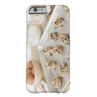Raw cookies on baking tray barely there iPhone 6 case