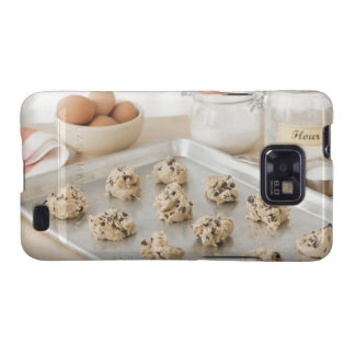Raw cookies on baking tray samsung galaxy s2 cases