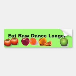 Raw Foodf ruit bumper sticker