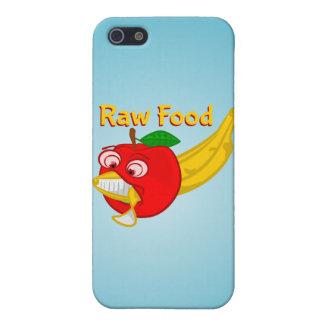 Raw Foods Food Fight Apple Verses Banana iPhone 5/5S Case