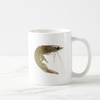 Raw grey prawn basic white mug