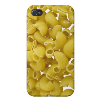 Raw pasta isolated on white background case for iPhone 4
