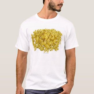 Raw pasta isolated on white background T-Shirt