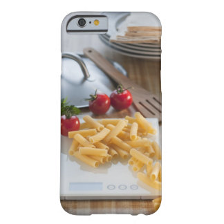 Raw pasta on weight scale barely there iPhone 6 case