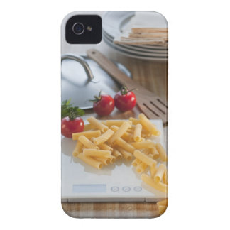 Raw pasta on weight scale Case-Mate iPhone 4 case