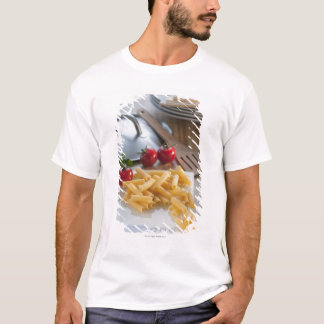 Raw pasta on weight scale T-Shirt
