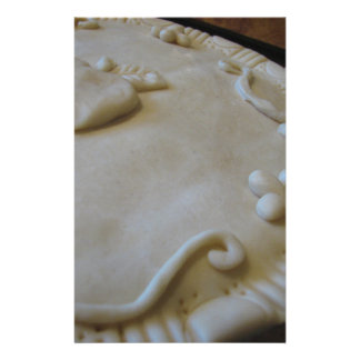 Raw Pie Stationery Design