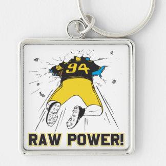 Raw Power Keychain