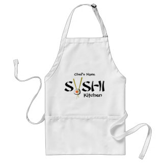 Raw Sushi Organic Planet Personal Aprons