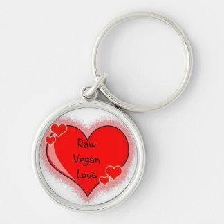 Raw Vegan Lover's Key Chain