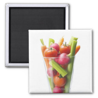 Raw vegetable shake magnet