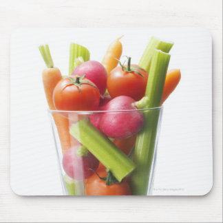 Raw vegetable shake mouse mat