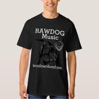 RAWDOG music dark T-Shirt