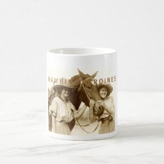 Rawhide Heroines Basic White Mug