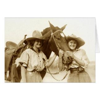 Rawhide Heroines Card