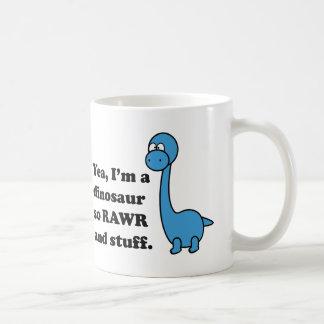 Rawr Basic White Mug