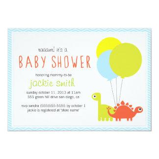 Rawr! Dino Baby Shower Invite