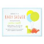 Rawr! Dino Baby Shower Invite 13 Cm X 18 Cm Invitation Card