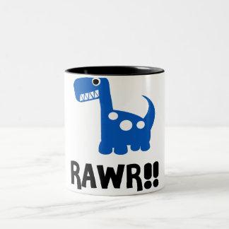 Rawr Dino Blue Mug